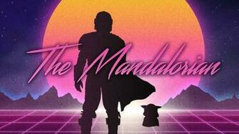The Main Theme Song From THE MANDALORIAN Gets a Retro 80s