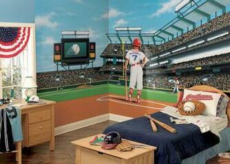 MLB Baseball Home DecorWall Murals and Wallpaper Borders Gallery