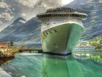 Anchored Cruise Ship Wallpapers Anchored Cruise Ship