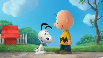 Snoopy and Charlie Brown HD wallpaper download