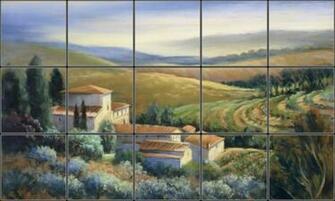 tuscan wallpaper murals