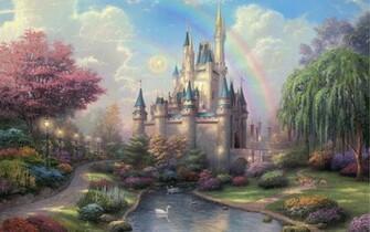 hdwallpapersdesktopcomThomas Kinkade Disneyland