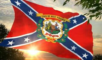 West Virginia Confederate flag wallpaper photo WVRebel1 1jpg