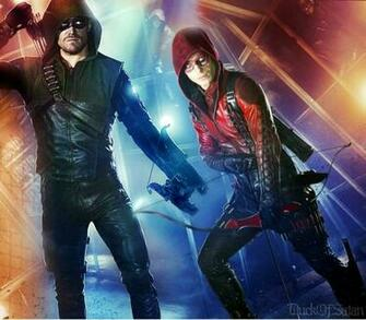 CW Arrow and Arsenal Wallpaper by duck of satan