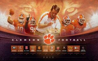 image Clemson Tigers Football PC Android iPhone and iPad Wallpapers