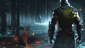 Mortal Kombat X   Scorpion vs Sub Zero by minol