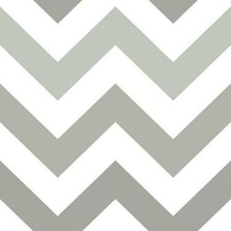 NuWallpaper Grey Zig Zag Peel and Stick Wallpaper NU1934   The