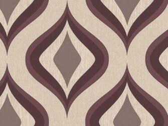 Delivery on Trippy Purple Mocha Geometric Wallpaper