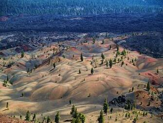 Geographic Wallpapers   Painted Dunes Lassen Volcanic National Park