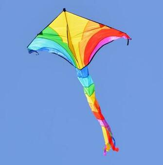 yellow and blue kite image Peakpx