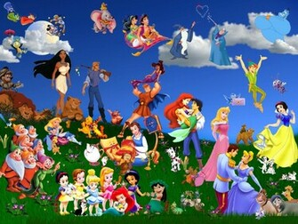 1024768 HD Disney Cartoons Wallpapers