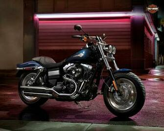 Harley Davidson Fat Bob Wallpaper 1