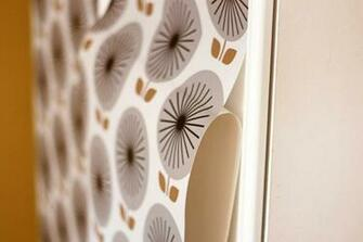 Removable wallpaper from Chasing Paper How About Orange