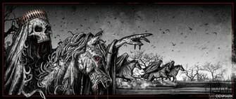 Four Horsemen Wallpaper The four horsemen by