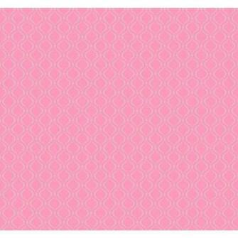 Pretty Pink Glitter Trellis Wallpaper KS2242