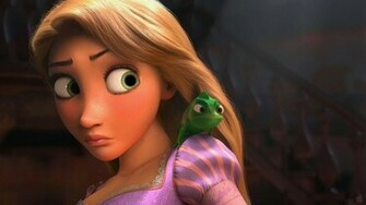 Rapunzel Pascal   Disneys Rapunzel Wallpaper 18137754