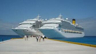 Tourism Luxury Cruise Ship Wallpaper