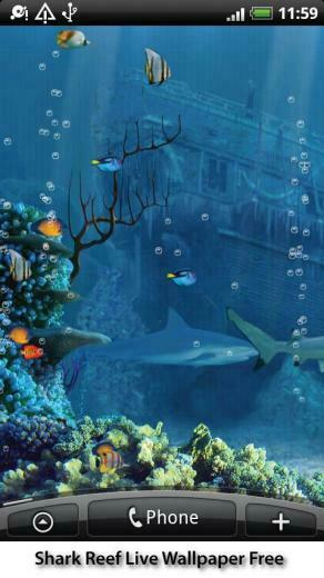 Shark Reef Live Wallpaper   Android Apps on Google Play