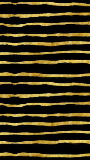 Gold and Black Torn Stripes Faux Foil Metallic Background Textur