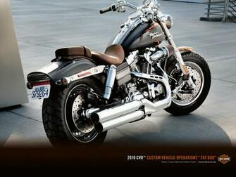 the latest anything Harley Davidson FXDFSE2 CVO Fat Bob