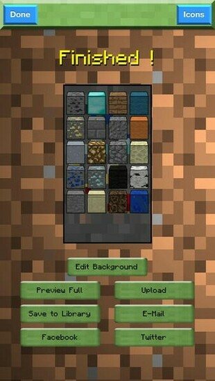 Background Craft Pro Creator   Custom Wallpapers for Minecraft Game