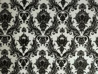 Damsel Self Adhesive Removable Wallpaper BlackWhite More Info