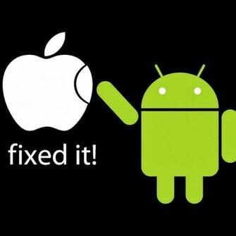 Android vs Apple Desktop Wallpaper   HD wallpapers