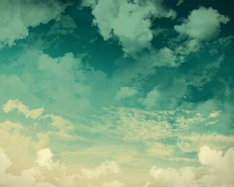 Grunge sky background green clouds PSDGraphics
