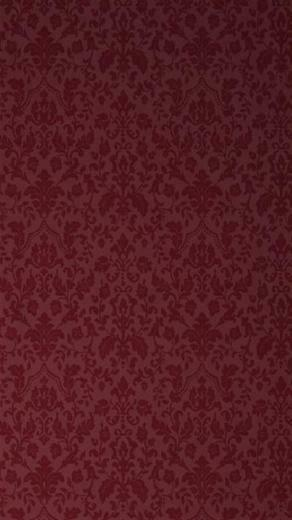 Victorian Wallpaper Pattern Red