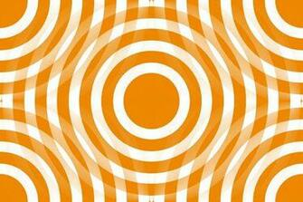 Background Wallpaper Image Orange And White Interlocking Concentric