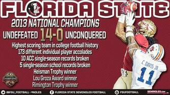 Florida State Seminoles Football 2013 Wallpaper Fsu football national