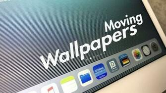 How to Get Moving Wallpaper on iPad   3D Illusions in iOS 11