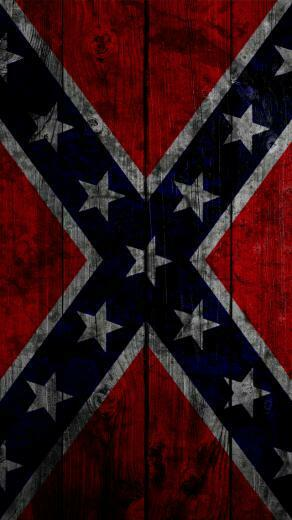 Confederate Flag iPhone 5 Wallpaper 640x1136