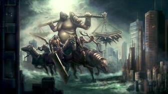 horsemen of apocalypse by erioca