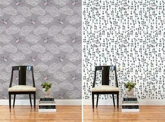 Removable Wallpaper Tiles Renters rejoice The wallpapers you see