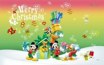 Disney Christmas Wallpapers Wallpaper Mansion