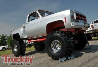 Lifted Chevy Truck Wallpaper Trucks web background cake