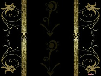 Black Gold Elegance Blogger Layout Template Blog Background