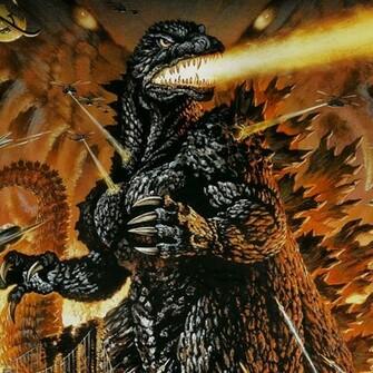 Godzilla ipad wallpaper