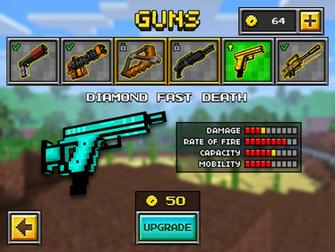 Fast Death Up2   Pixel Gun 3D Wiki