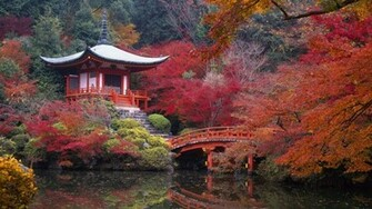 Colorful Japan Landscape Wallpaper PC Wallpaper WallpaperLepi
