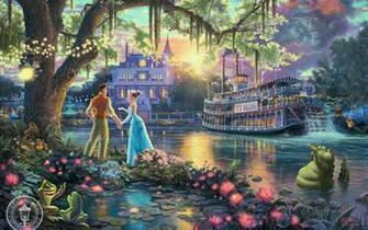 Disney Princess images Thomas Kinkade quotDisney Dreamsquot HD