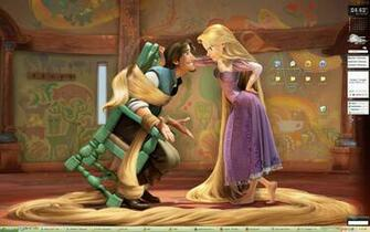 My tangled desktop wallpaper wallpapers for Disney tangled wallpaper