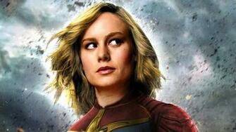 Captain Marvel Movie 2019 Brie Larson as Carol Danvers 4K