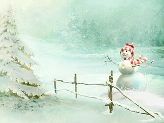 Cute winter scene wallpaper   ForWallpapercom