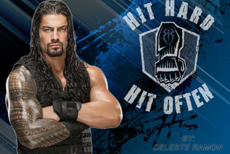 Roman Reigns Logo Wallpaper wwwimgkidcom   The Image
