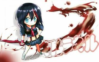Matoi Ryuko Chibi Anime 4q Wallpaper HD