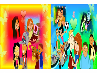 Disney Channel Characters Wallpaper Disney channel all stars love