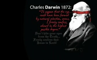Darwin was Wrong Wallpaper   Christian Wallpapers and Backgrounds