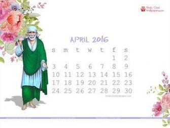 Desktop Calendar Wallpaper April 2016